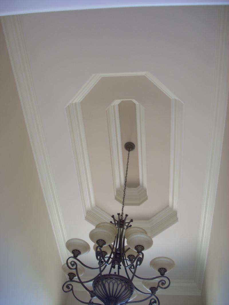3 color ceiling Foyer